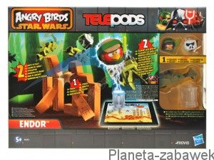 HASBRO ANGRY BIRDS STAR WARS TELEPODS ENDOR