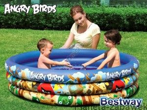 BESTWAY BASEN DMUCHANY ANGRY BIRDS 152cm