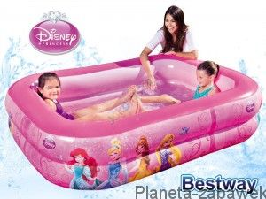 BESTWAY BASEN DMUCHANY 201cm DISNEY PRINCESS