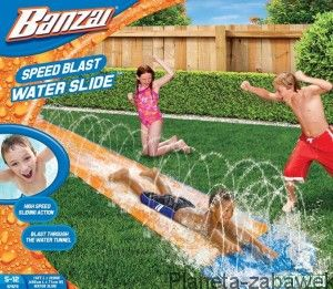 ŚLIZGAWKA WODNA - BANZAI SPEED BLAST WATER SLIDE