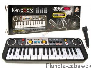 ORGANY KEYBOARD 39 KEYS MIKROFON